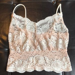 Fashion nova lace top!